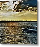 Queen City Ferry Metal Print