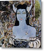Queen Mab 1 Metal Print by Jackie Rock