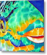 Queen Parrotfish Metal Print by Daniel Jean-Baptiste