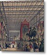 Queen Victoria With Prince Consort Metal Print