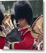 Queens Guards Band Metal Print