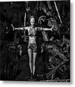 Question Of Balance Metal Print by Bob Orsillo