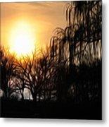 Quiet Country Sunrise Metal Print