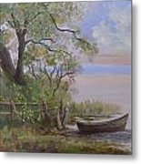 Quiet Lake Metal Print