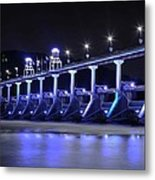 Quiet Night On The River Metal Print