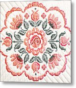 Quilted Centerpiece Metal Print