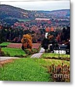 Quilted Hills Metal Print