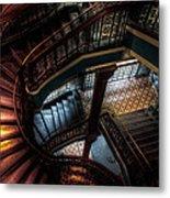 Qvb Stairs Metal Print