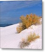 Windswept - White Sands National Monument Metal Print