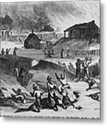 Race Riot In Memphis, Tennessee, May 2 Metal Print