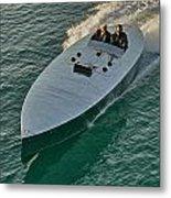 Raceboat Mercury Metal Print