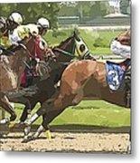 Racetrack Views Metal Print
