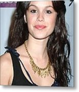 Rachel Bilson At Arrivals For Birthday Metal Print