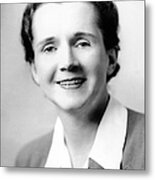 Rachel Carson (1907-1964) Metal Print by Granger