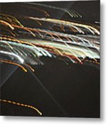 Racing Light Metal Print by Naomi Berhane