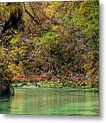 Radovna River In Vintgar Gorge Slovenia Metal Print