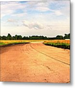 Raf Eye Taxiway Metal Print