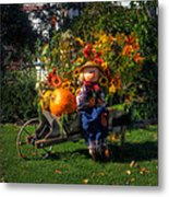 Raggedy Andy Square Metal Print