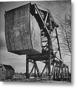 Railroad Bridge 10615b Metal Print