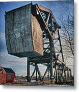 Railroad Bridge 10615c Metal Print