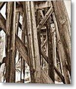 Railroad Trussel Metal Print