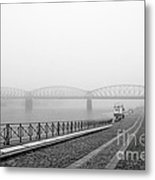 Railway Bridge Metal Print