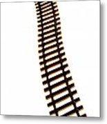 Railway Tracks Metal Print by Bernard Jaubert