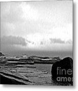 Rain And Storm Metal Print