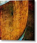 Rain Barrel Metal Print by Judi Bagwell