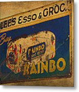 Rainbo Bread Metal Print