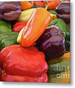 Rainbow Bells Metal Print by Susan Herber