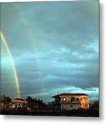 Rainbow Calabrese Metal Print