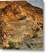 Rainbow Canyon 2 Death Valley Metal Print