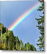 Rainbow Closeup Metal Print