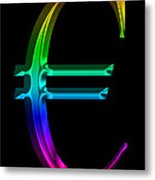 Rainbow Euro Metal Print