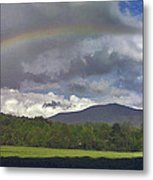 Rainbow Frames Ascutney Mountain Metal Print