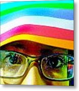 Rainbow Mind Metal Print