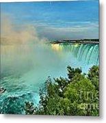 Rainbow Over Niagara Metal Print