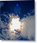 Rainbow Round The Sun II Metal Print
