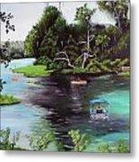 Rainbow Springs In Florida Metal Print