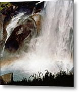 Rainbow Under Vernal Falls 2 Metal Print