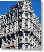 Rainbows And Architecture Metal Print