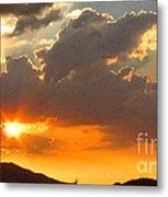Rainey Sunset Metal Print