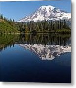 Rainier Clarity Metal Print