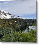Rainier Journey Metal Print by Mike Reid