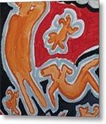 Raining Metal Print by Jay Manne-Crusoe