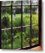 Rainy Day Metal Print by Susan Savad