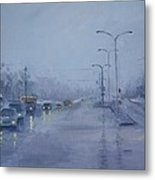Rainy Monday Metal Print