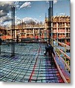 Raising Bedford Metal Print