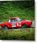 Rally Lancia 02 Metal Print